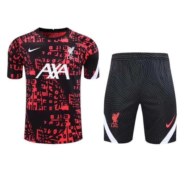 Maillot Liverpool Football Training Hauts + Short Adulte Kit 20/21.
