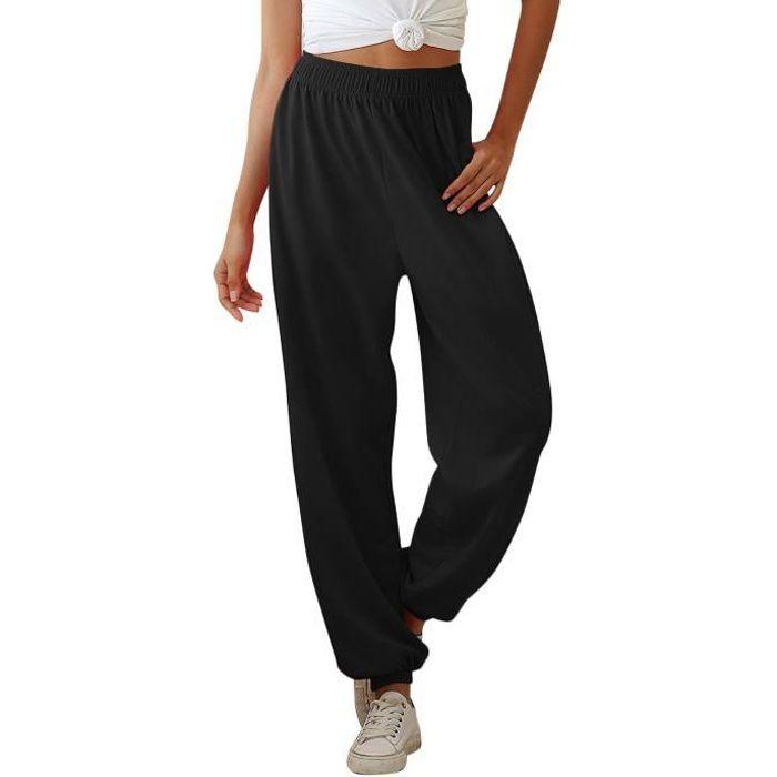 AmzBarley Pantalon de Jogging Décontracté pour Femmes Pantalons de Survêtement Amples Dames Survêtement Bas Pantalon avec Poches