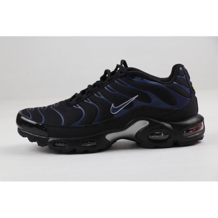 Baskets Course NIKEs AIRs MAXs Tn 1 Plus Chaussures Homme Entraînement Bleu Noir