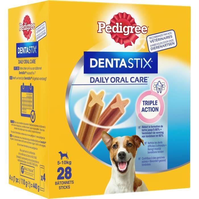 PEDIGREE Dentastix Bâtonnets - Pour petits chiens - 440 g