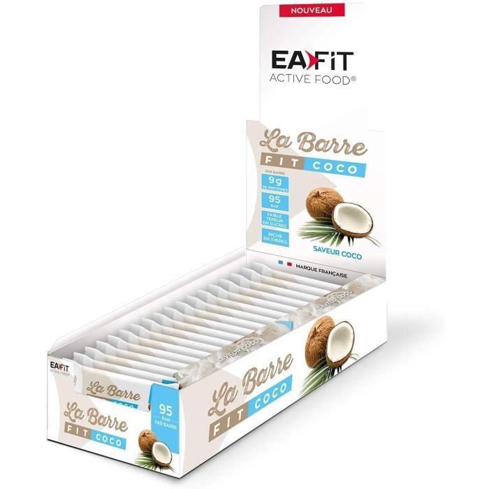 EAFIT La Barre Fit Coco - Présentoir x32 barres 28 g