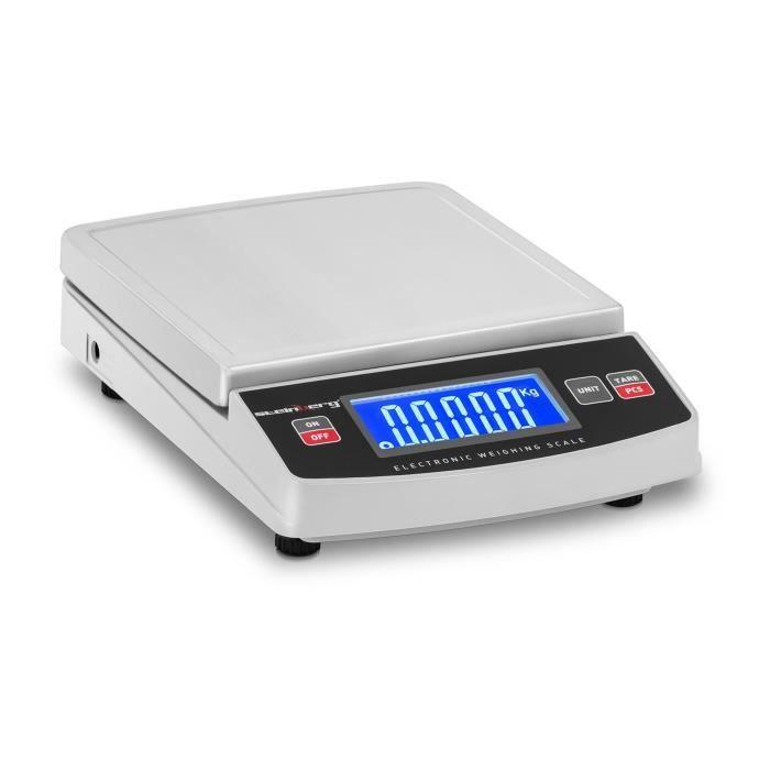 Balance de table Steinberg SBS-TW-5000 (5 g à 5000 g int.10 g Écran LCD Unités kg/g/lb/oz Plateau 148 x 152cm)