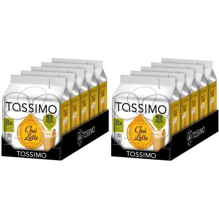 Tassimo Chai Latte 80 Dosettes