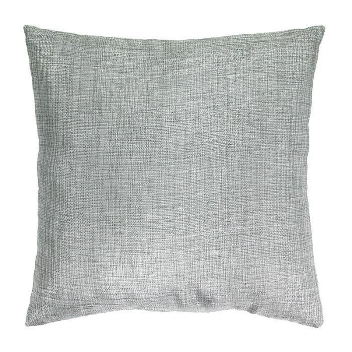 Coussin effet chiné gris 40x40cm LINX Gris