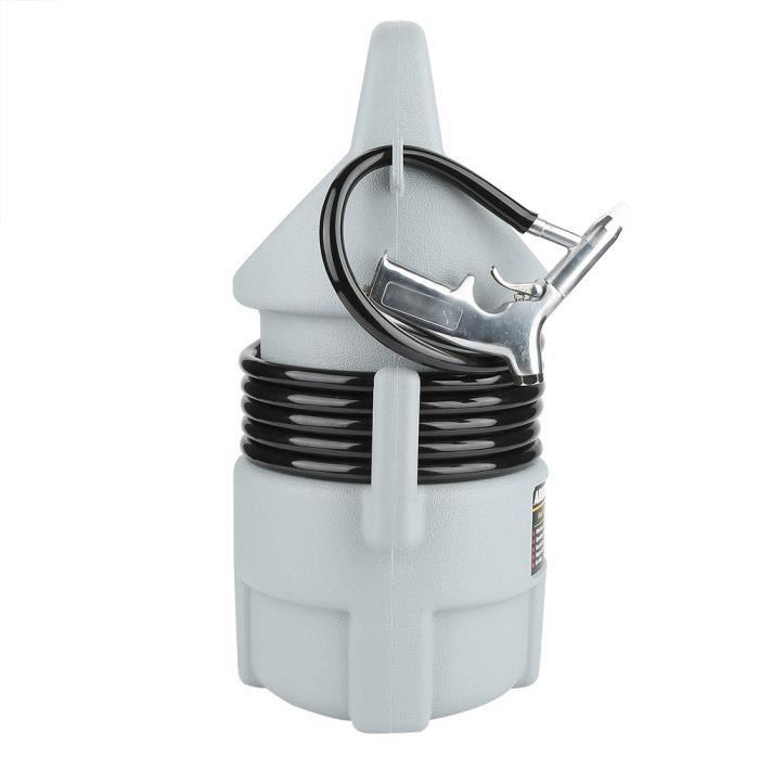 Mengyyshop-Kit de sablage pneumatique portatif Pistolet de sablage Tuyau de 15 pi et trémie de 50 lb