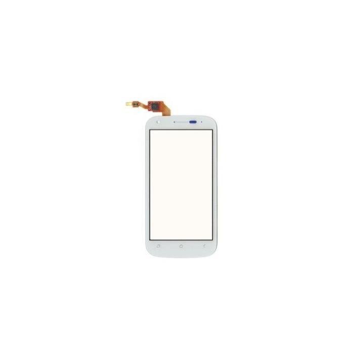 Vitre Et Surface Tactile Wiko Cink Peax Coloris Blanc