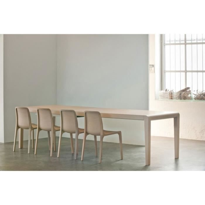 Table de salle manger design ou moderne pedrali exteso for Table de salle a manger 3 metres