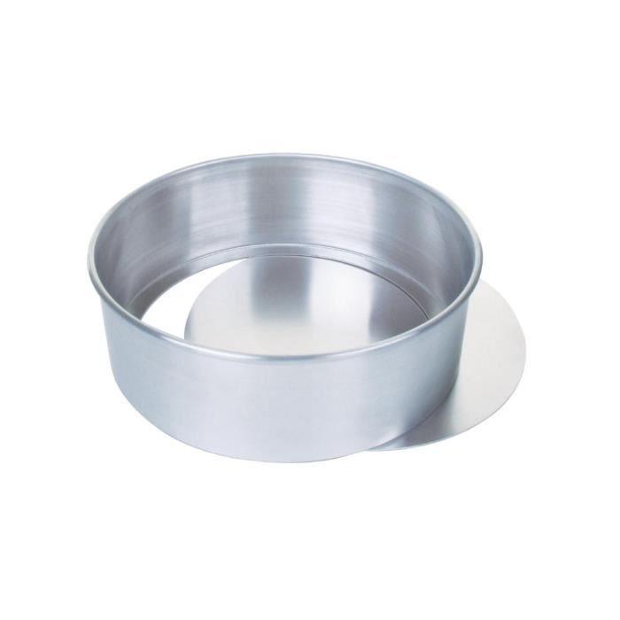 MOULE  Aluminium Moule à gâteau avec 30cm de base amovibl
