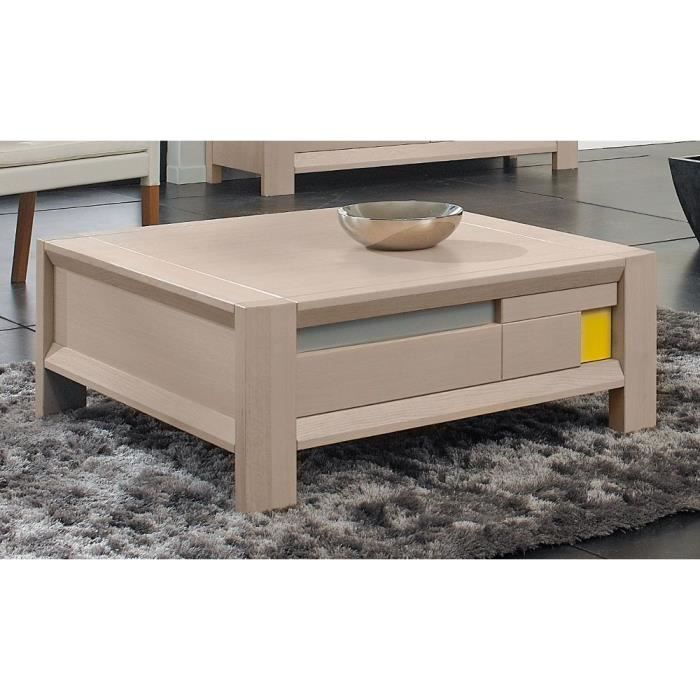 Table Basse Murano Ch Ne Naturel Achat Vente Meuble
