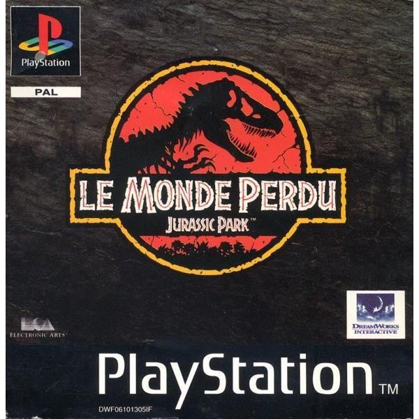 JEU PS1 Le monde perdu Jurassic Park