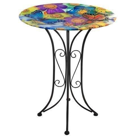 table en metal fleurs 75x60 cm achat vente table basse table en metal fleurs 75x60 cm. Black Bedroom Furniture Sets. Home Design Ideas
