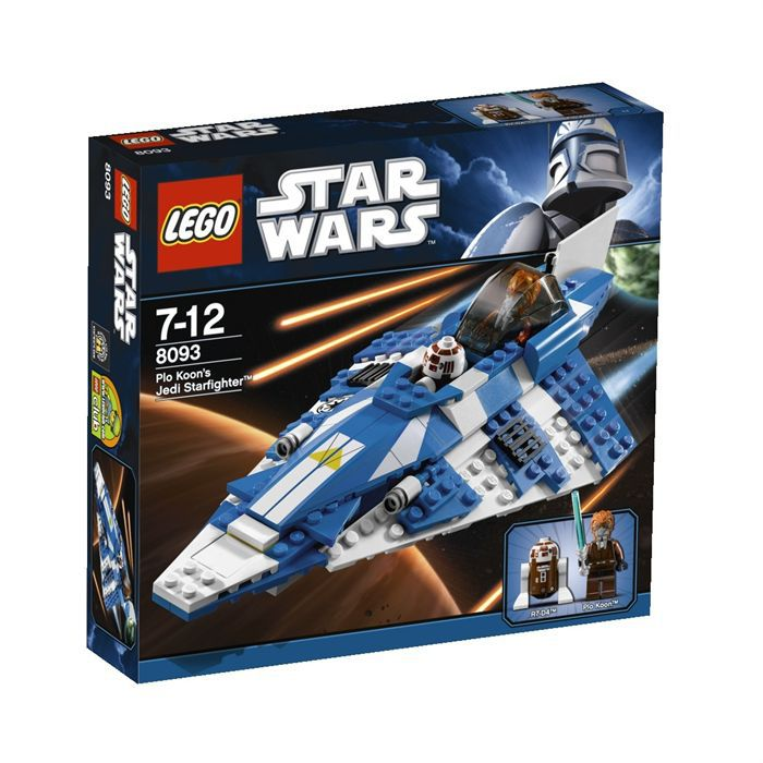 ASSEMBLAGE CONSTRUCTION Lego Star Wars  Plo Koon's Jedi Starfighter™