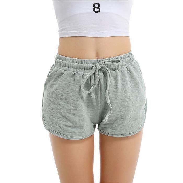 Short de jogging Femme pas cher en Couleur