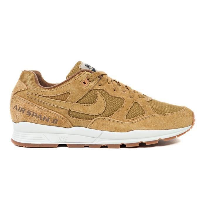 Específicamente aprender Limpiar el piso  Chaussures Nike Air Span II Prm Marron - Achat / Vente basket - Soldes sur  Cdiscount dès le 20 janvier ! Cdiscount