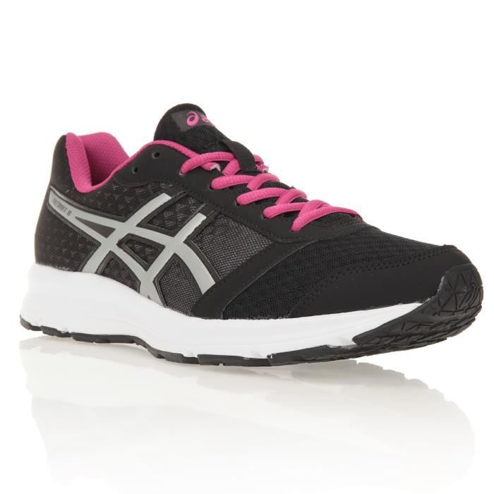 asics baskets chaussure running patriot 8 femme prix pas cher cdiscount. Black Bedroom Furniture Sets. Home Design Ideas