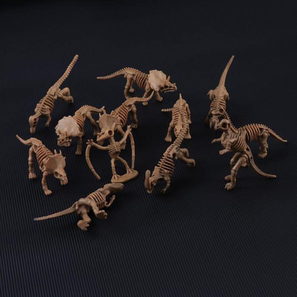 25 pièces Nouveau Plastique Dinosaure Jouets Figures En Couleurs Assorties Préhistoriques Jouet