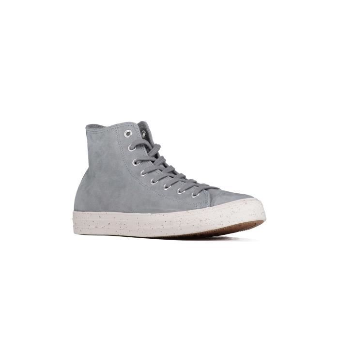 Baskets Converse Chuck Taylor All Star Hi Gris Homme