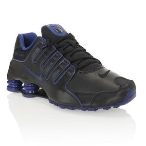 wide varieties genuine shoes reasonable price NIKE Baskets Shox NZ Homme Noir et violet - Achat / Vente ...