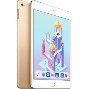 TABLETTE TACTILE Apple iPad mini 4 Wi-Fi 128 Go Or - Reconditionné