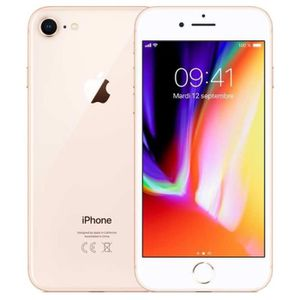 SMARTPHONE Smartphone APPLE - iPhone 8 Or - 64 Go (MQ 6 J 2 Z