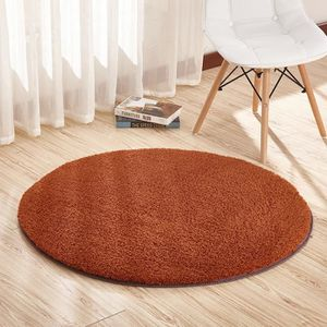 Tapis Deco 100cm Diametre Tapis Rond Decoration De Salon Chambre