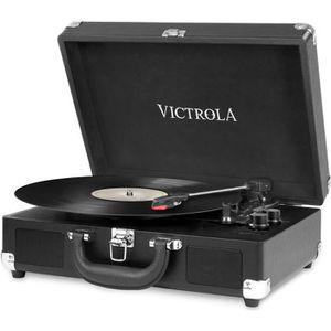 PLATINE VINYLE VICTROLA Platine Valise - Noir