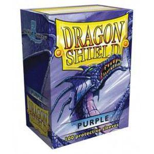 CARTE A COLLECTIONNER Protèges cartes Dragon Shield violet