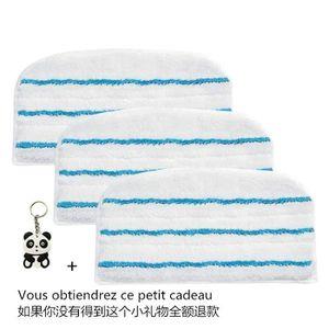 NETTOYEUR VAPEUR Lot de 3 Patins de Nettoyage Microfibre Haute Qual