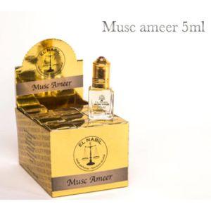 EAU DE PARFUM Pack de 12 EL NABIL 5ml Musc Ameer 100% huile