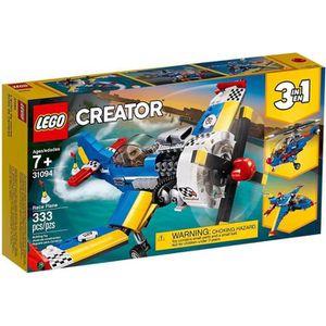 ASSEMBLAGE CONSTRUCTION LEGO® Creator 3-en-1 - 31094 - L'Avion de Course