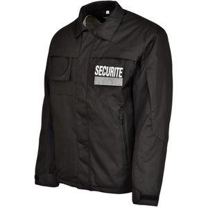 BLOUSON PRO Blouson Sécurité City Guard - Noir