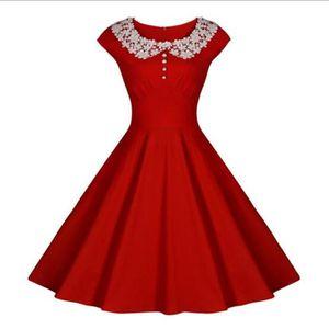 ROBE Rétro Vintage années 50 's Style Audrey Hepburn Ro