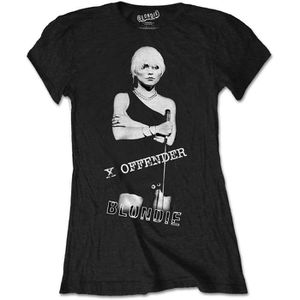 T-SHIRT Ladies Blondie X Offender Debbie Harry Punk Autori