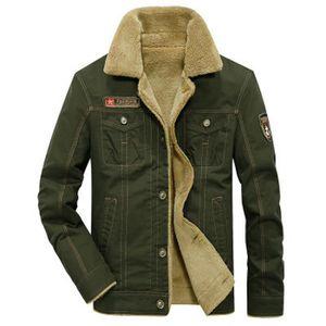 BLOUSON Blouson homme veste chaude nouveau Vert ZX-NSZ3015