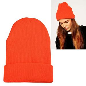 bonnet femme orange