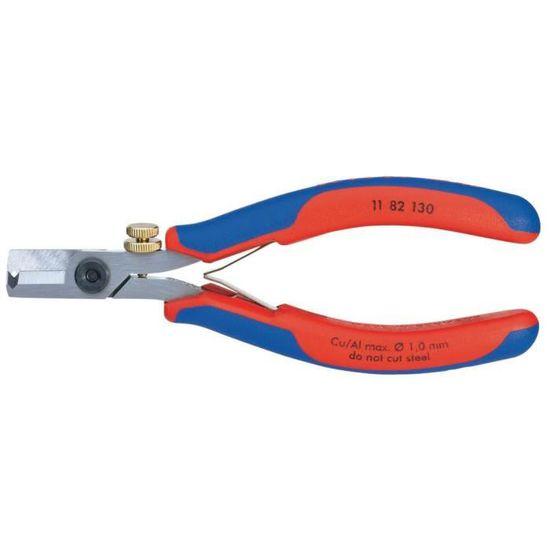KNIPEX 12 12 11 Pince /à d/énuder de pr/écision pour c/âble solaire