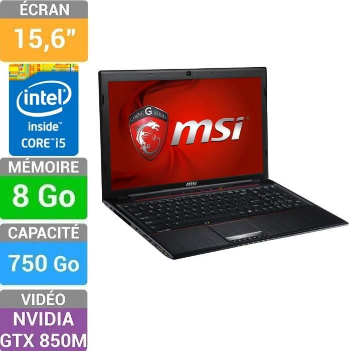 msi ge60 2pl apache 094fr pc portable gamer 15 6 prix pas cher cdiscount. Black Bedroom Furniture Sets. Home Design Ideas