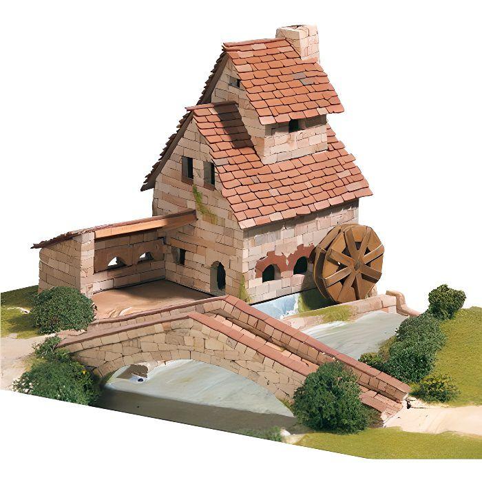 Maquette en céramique - Forge avec pont