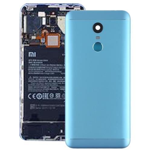 Pièce détachée -Xiaomi Redmi 5 Plus ( Bleu) Remplacement Coque Arriere Objectif photo touche laterales ALS72179