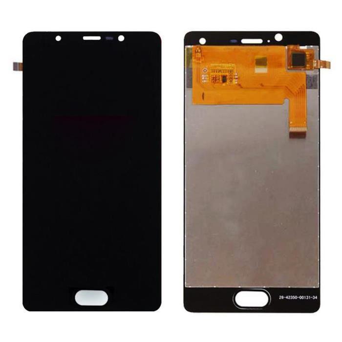 Vitre Tactile Ecran LCD Assemblé de Remplacement pour Wiko U Feel Lite (Noir) avec Outiles