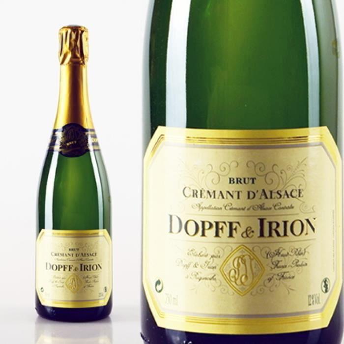 Champagne et Méthode Traditionnelle - Crémant d'Alsace Brut Blanc