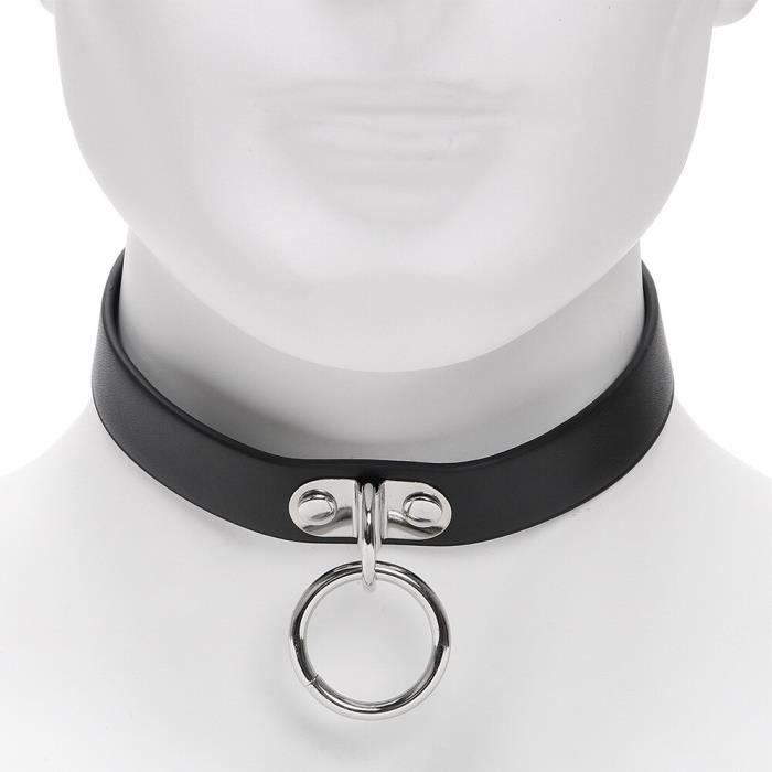 OLO cou anneau pointe Rivet boucle collier esclave contraintes SM Bondage Roleplay jeux pour adultes jouets s - Type: Type F -WL5084