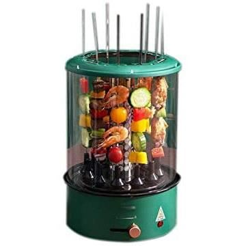GRILL SKREOJF Vertical &eacutelectrique BBQ Kebab Grill Machine Automatique Barbecue Rotating Smokeless Four Rotary m&eacute267