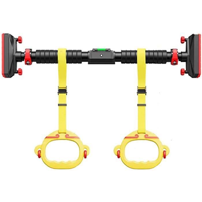 Barre de Traction Pull Up Bars Barre De Traction Portable, sans Vis, Anneau De Verrouillage pour Enfants De Barre Horizontale D849