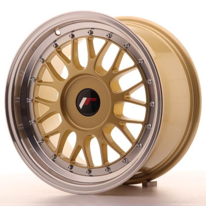 Jante Alu 16- Japan Racing JR23 16x8 ET20-45 Blank Gold