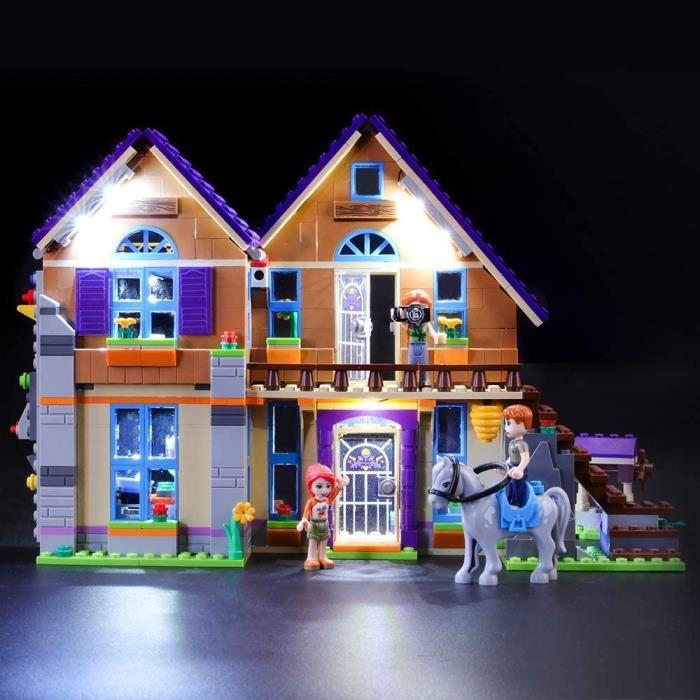 Jeux de construction BRIKSMAX Kit de LED pour Lego Friends La Maison de Mia,Compatible avec la Maquette Lego 41369, La M 52920