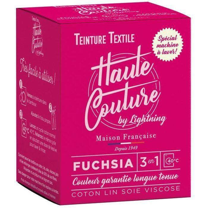 Teinture textile haute couture fuchsia 350g