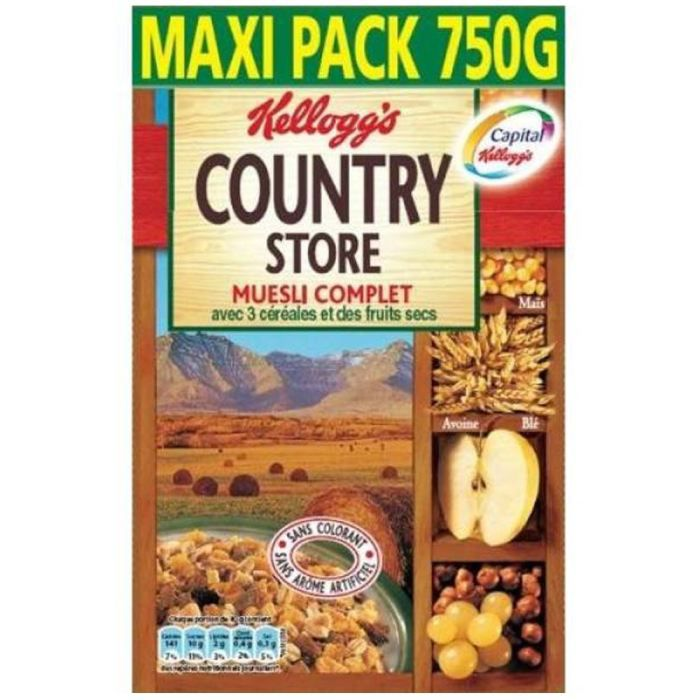 Kellogg's Country store céréales 750g