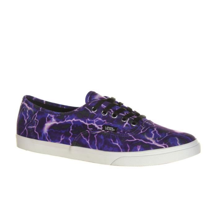 VANS Chaussures Authentic Lo Pro Digi Lightning Homme