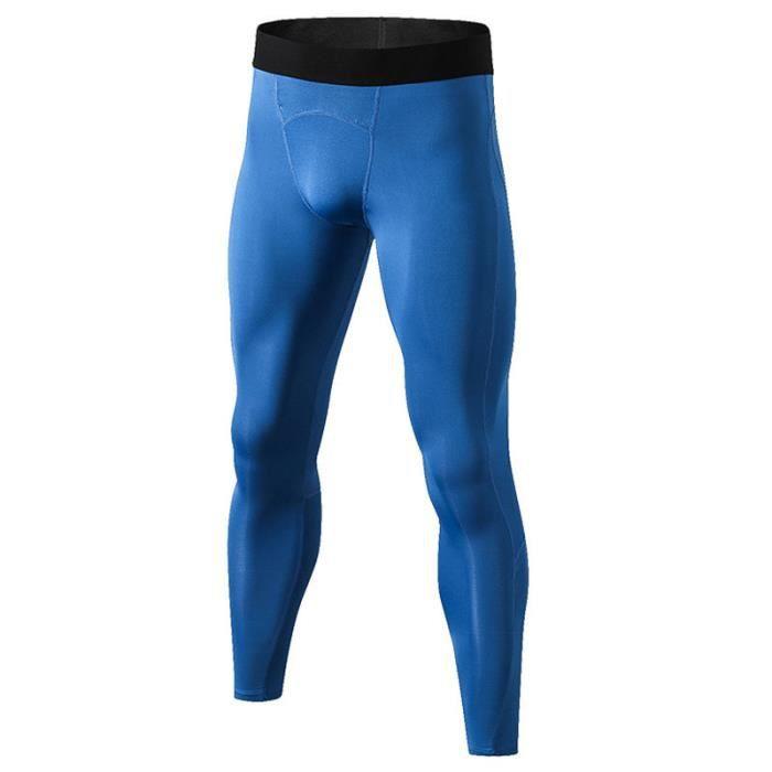 Pantalon de Compression Homme Collant de Sport Fitness Séchage Rapide Stretch Musculation